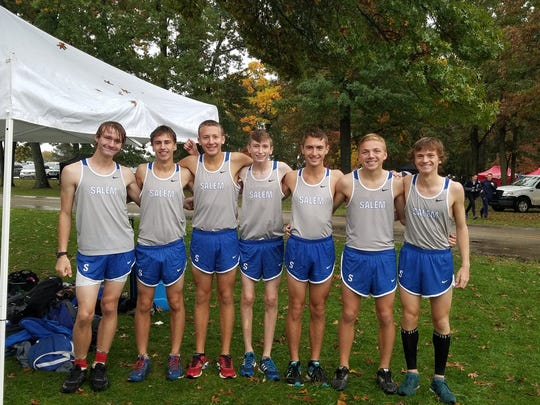 Salem's top seven runners at the Kensington Conference