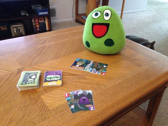 Certain backers of the Indiegogo campaign will received a stuffed blob to complement their game.