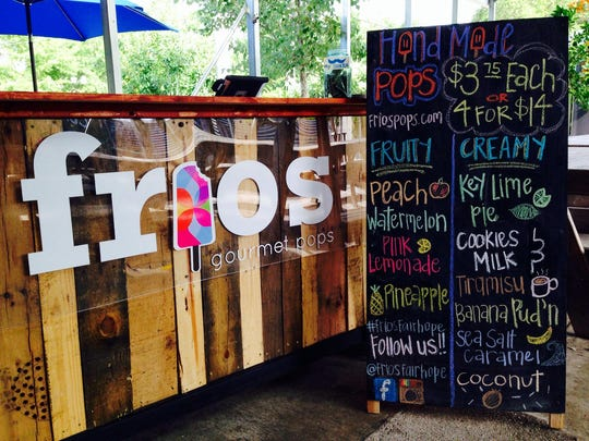 Frios Gourmet Pops has been opening locations throughout