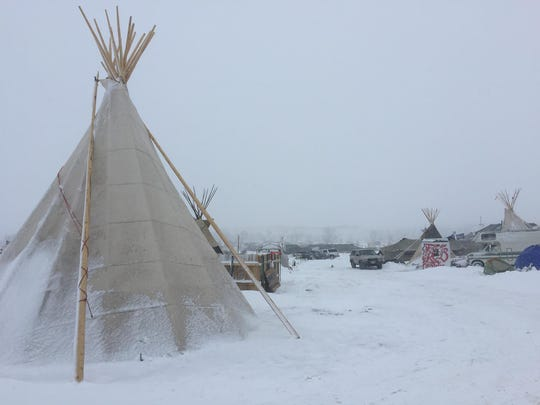 Current conditions at the Oceti Sakowin camp in North