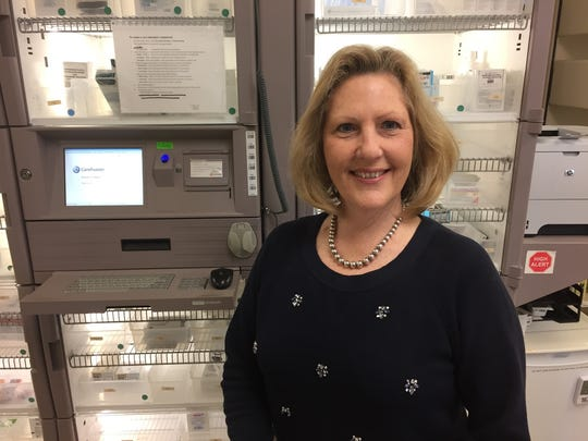 Karen Hancock, administrative director of pharmacy at Bon Secours St. Francis Health System