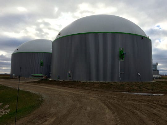 A biodigester at Rosendale Dairy - the state's largest dairy farm near Pickett -  is one of the projects the University of Wisconsin-Oshkosh Foundation facilitated and gifted to the university.
