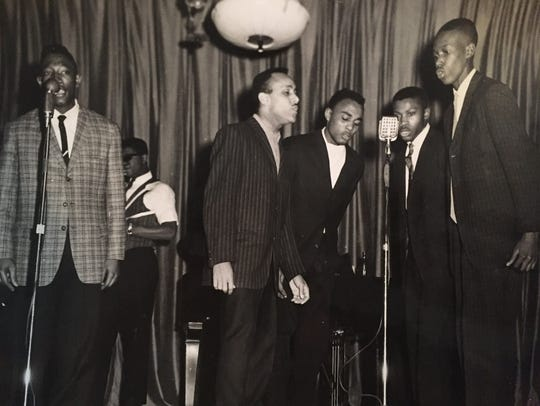 Burt High School students at a singing show.