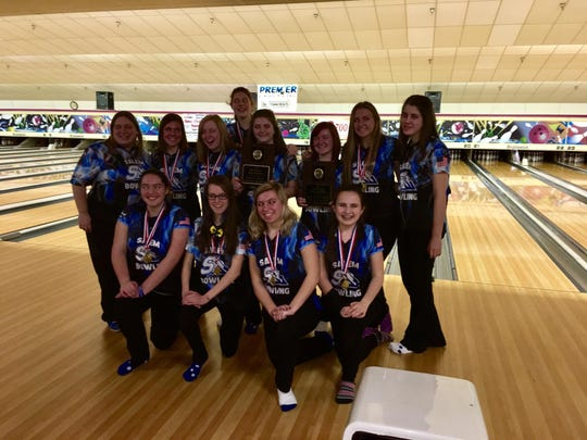 Salem will send its varsity girls bowling team to states after the team finished third at Friday's team regional.