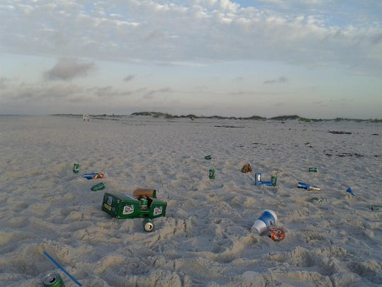 Primitive camping at Perdio Key area has been suspended due to high volume of garbage and bad behavior at the park.