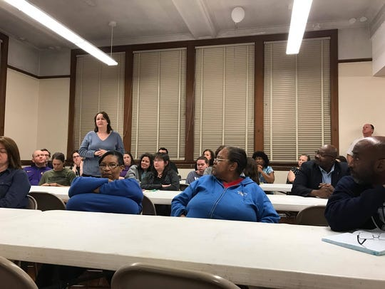 Concerned parents and community members hear from Bolton's