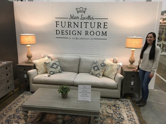 Jenny Cristurean is Miss Lucille's Furniture Design