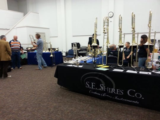 Instrument exhibitors will be on hand Saturday.