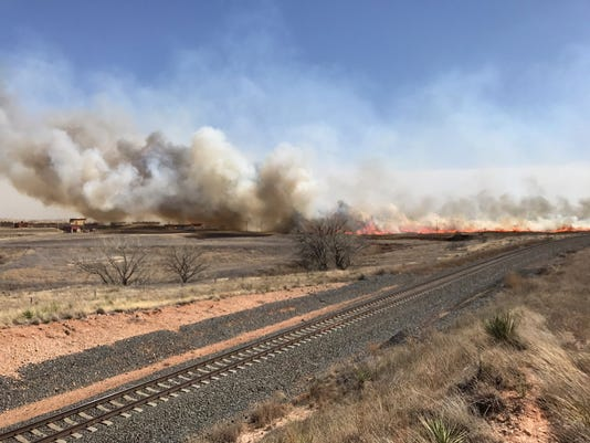 Texas panhandle fire