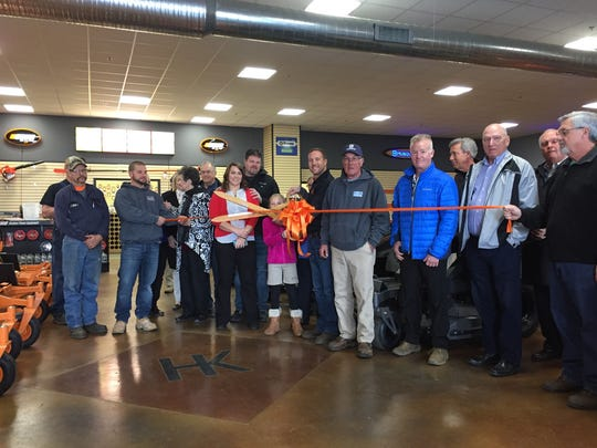A ribbon cutting ceremony was held last week at H&K Outdoor Power to celebrated their opening in Henderson.