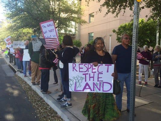 Tucson protest