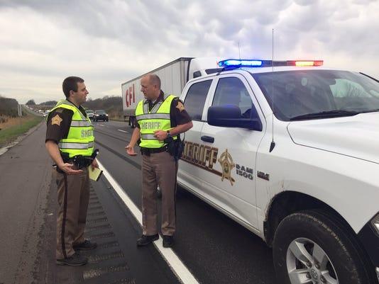 Evansville woman dies in I-64 wreck