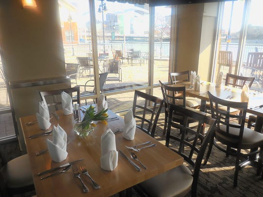 West Edge Restaurant and Lounge in Rochester's Corn Hill neighborhood overlooks the Genesee River.