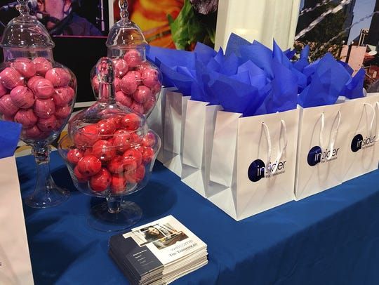 Insiders receive a free gift at Southern Women's Show.