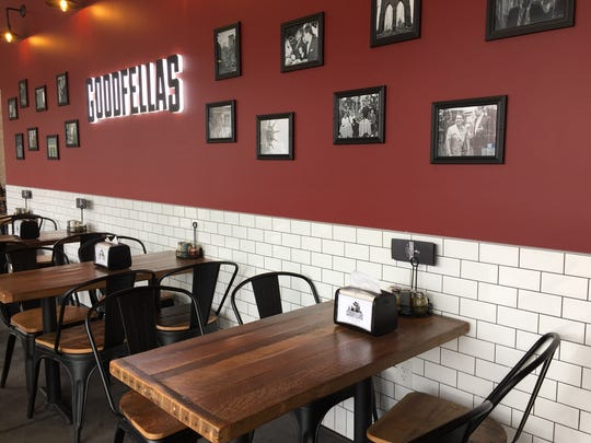 Goodfellas opened in late March 2017 at 545 Massachusetts