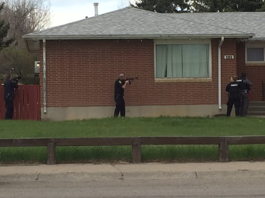 Police are on the scene of a reported standoff in Great Falls.