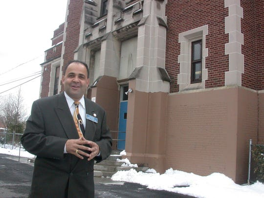 Daniel Vergara was honored by the Paterson Council for his years of work for the city.
