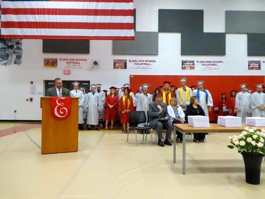 Elgin High School Graduation May 27, 2017