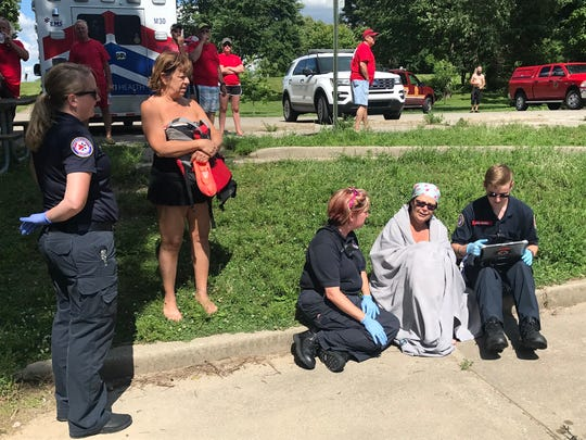Indianapolis firefighters rescued five women after their kayaks capsized on the White River on June 24. IFD rescued 12 people from the river and Fall Creek that day, only three wore life vests.