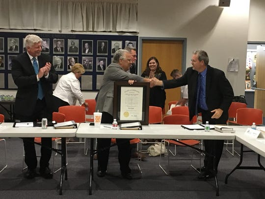Jim Riggle, outgoing chairman of the Eastern Indiana