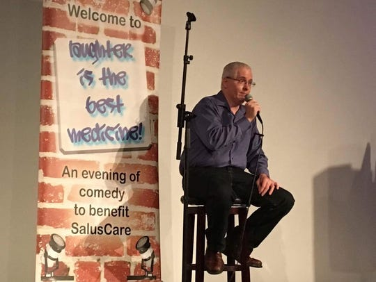 Charles Runnells performed July 22 at Laughter Is The