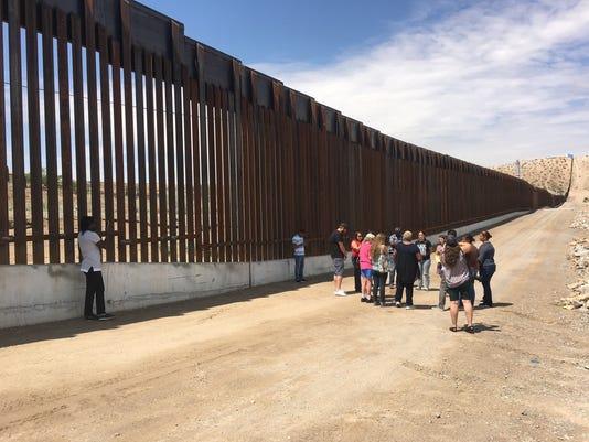 Border encounter