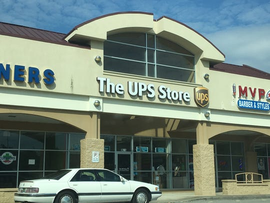 Intelligent Utility Conservation lists its address as this strip mall on the outskirts of Nashville. However, the address is actually home to a UPS store. IUC's purported owner may be an undercover FBI agent and his business an FBI front.