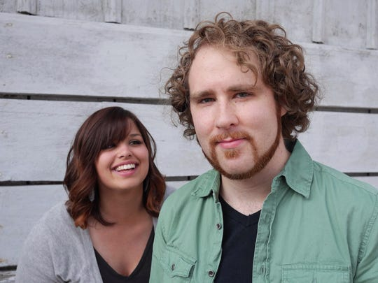 Gabriel and Morgan Speegle will perform from 1 to 5 p.m. Saturday.