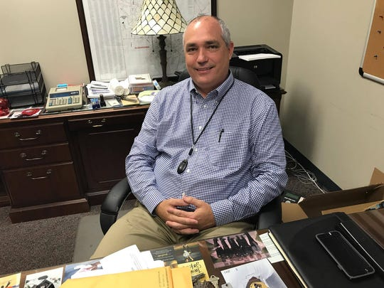 Ricky Rachal is settling into his new role as interim city marshal. He has said he plans to run for the position in the March special election.
