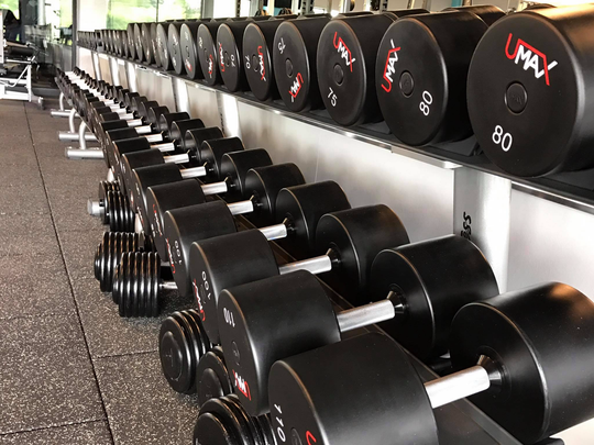 Melbourne Athletic Club has state of the art equipment.