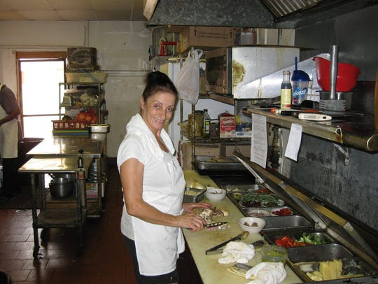 Suzy Lahara prepares Italian favorites at the family-owned