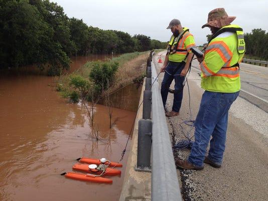 U.S. Geological Survey crew