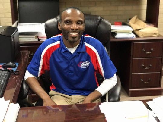 Dennis Stewart has been principal at Alexandria Middle Magnet since 2015.