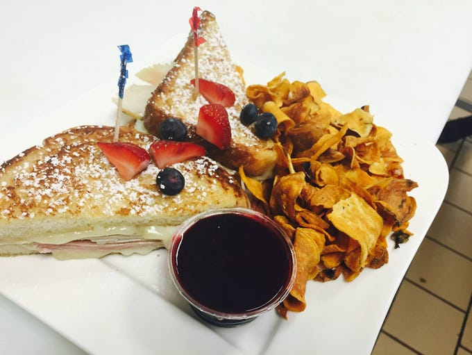 The Monte Cristo at Sanibel Fresh is made with uncrued