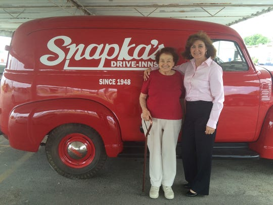 Maxine Snapka (left) and daughter Kathryn Snapka are