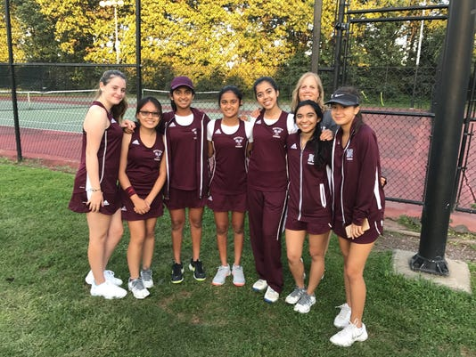 Nutley girls tennis