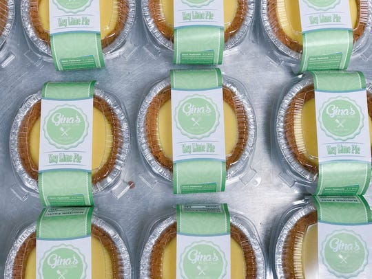 Gina The Baker's key lime pie are bestsellers