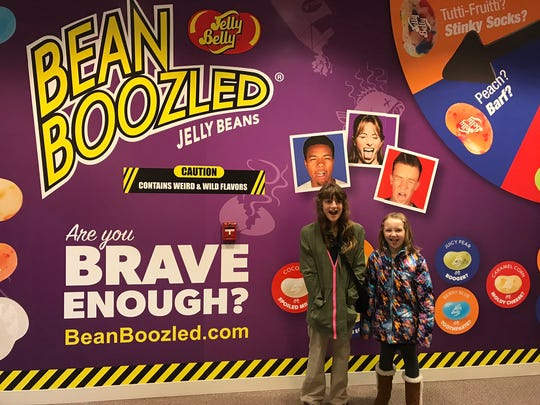 A photo opp station has been added to the Jelly Belly