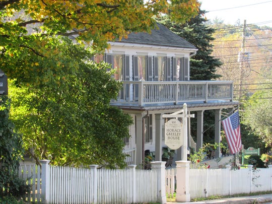 The Horace Greeley House is in Chappaqua.