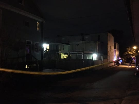 York City Police responded to a shooting in the 200