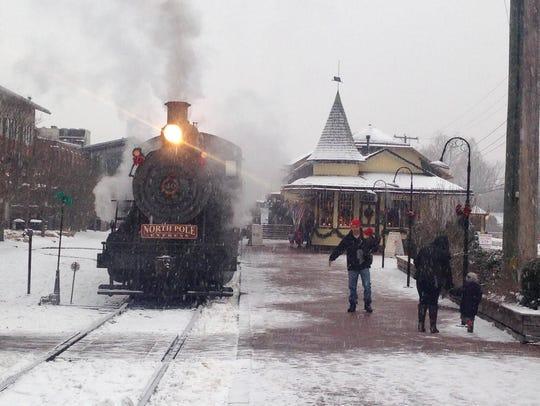 Santa's Steam Spectacular of New Hope & Ivyland Railroad