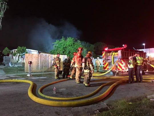 Crews responded Wednesday, Nov. 29, 2017, to a fire