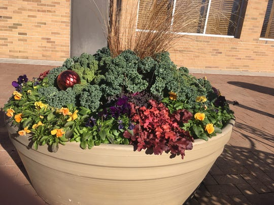 """Use the """"thriller, filler, spiller"""" rule to create attractive containers for your yard and garden."""