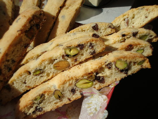 Pistachio Biscotti is a beloved holiday cookie recipe.