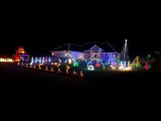 Dickson Christmas Wonderland, 2861 S. Hartford Ave.,