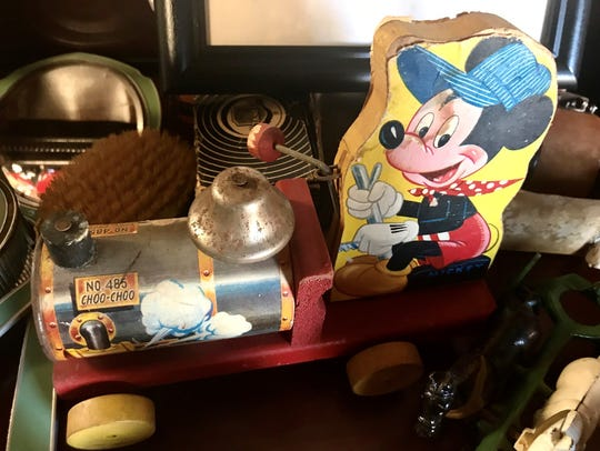 Mickey Mouse toys from every decade can be found in