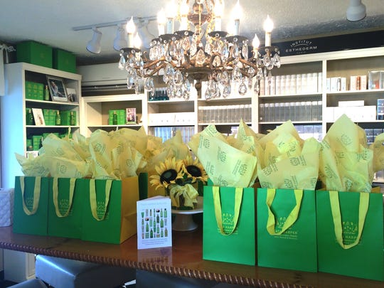 Tata Harper products at Waterlily Spa and Cosmetics Boutique in Brighton.
