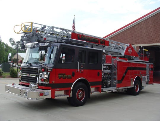 Fairview Fire Department's new ladder truck contributed