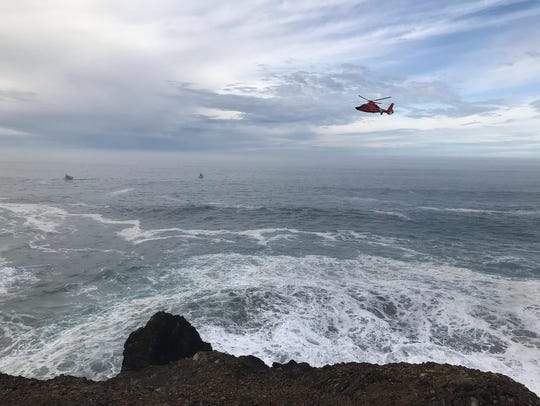 Search continues for a missing Sparks man off the Oregon
