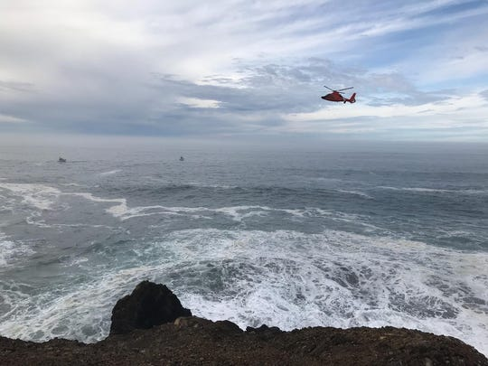 Search continues for a missing Sparks man off the Oregon Coast.